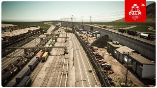 Cities Skylines: Palm Island — EP36 — Industrial Warehouses, Train Depot & Car Recycle Lot