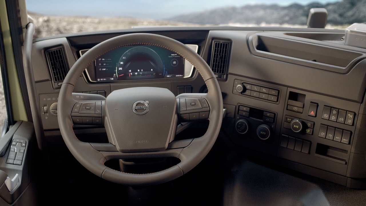 Volvo Trucks The New Volvo Fmx Interior Walkaround Youtube