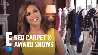 Eva Longoria on Victoria Beckham Designing Her Wedding Gown | E! Live from the Red Carpet