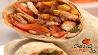 Cajun Spiced Chicken Wrap