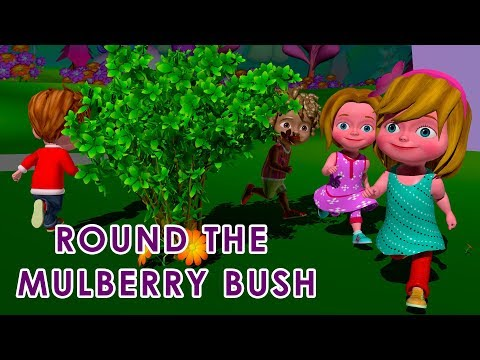 round-the-mulberry-bush-nursery-rhyme---educational-songs-for-children---dudu-tv
