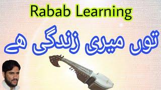 Rabab-Lessons-Tu Meri Zindagi hey-Past And Slow Motion-By Shehzad Ustad
