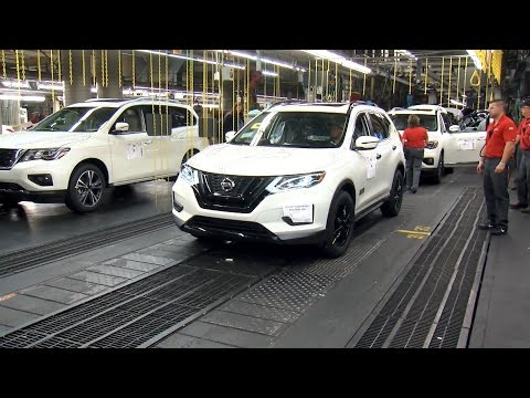 Nissan Rogue One Star Wars Limited Edition Production in Smyrna, Tennessee