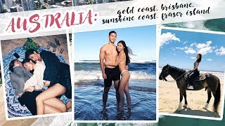 VLOG: Australia Road Trip - From Gold Coast to Fraser Island