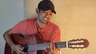 Cover Lagu Rindu - (Kerispatih) - Chris Jamlean