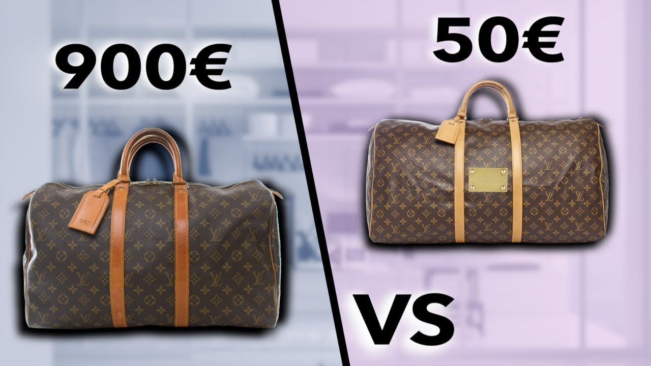 LOUIS VUITTON 900€ VS LOUIS VUITTON 50 €   SOStyle - YouTube 6c5b6dc9671