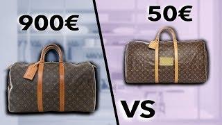 LOUIS VUITTON 900€ VS LOUIS VUITTON 50 € | SOStyle