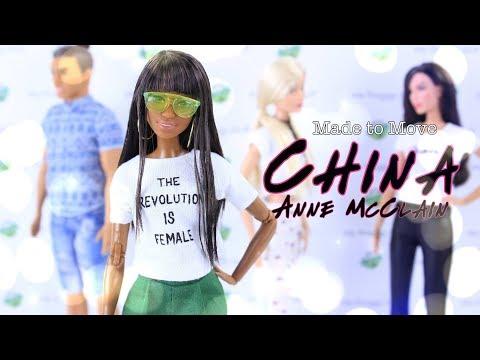 DIY  How to Make: CHINA ANNE McCLAIN Celebrity Custom Doll