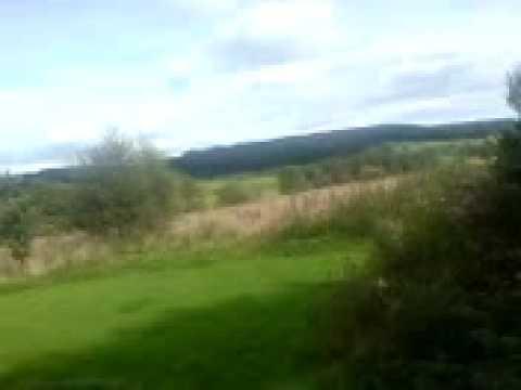 me mowing the lawn at boele