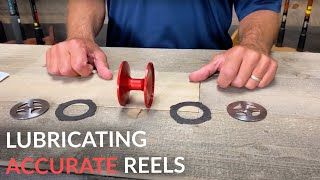 How to Lubricate ACCURATE Fishing Reels