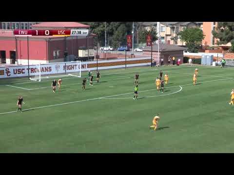 USC Women's Soccer: USC 2, EW 1 - Highlights (11/11/17)