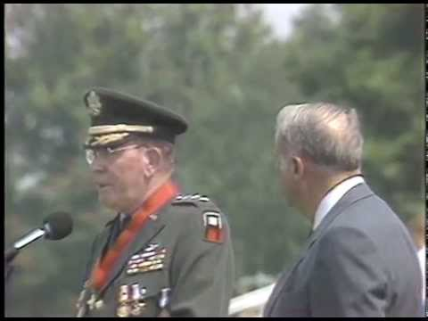 Lt. Gen Charles D. Franklin Retirement Ceremony