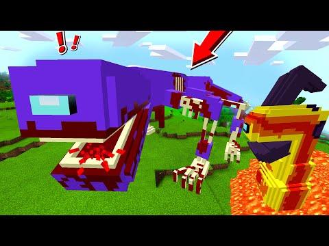 AMONG US MONSTER BESCHWÖREN in Minecraft (MOLTEN, MURR3Y, REDD..)