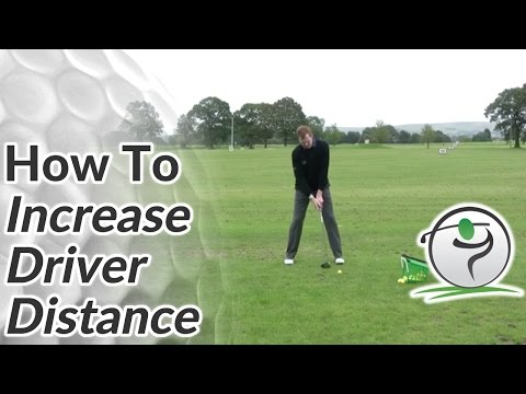 Longer Golf Drives – How To Increase Your Golf Driver Distance