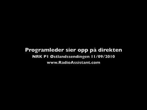NRK-ansatt sier opp jobben på direkten