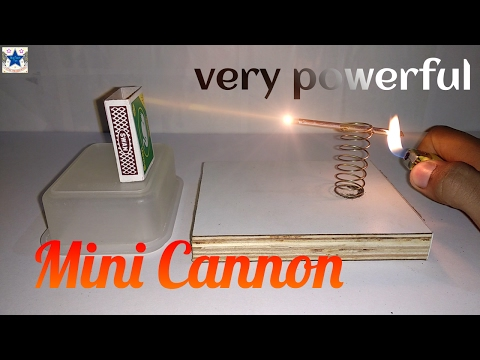 ✪ Powerful Cannon | How to make MINI CANNON ✪ StarTech Tips ✪