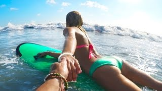 """SURFING"" IN BALI"