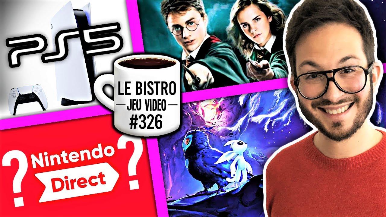 """PS5 serait """"un chef d'oeuvre"""", Harry Potter Next Gen, Nintendo Direct repensés ? Ori jolis chiffres"""