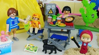 Picnic bus baby doll camping toys kitchen play - 토이몽