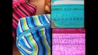 Como coser y bordar con maquinas Brother - Aplicar cierre - Bordar nombres -