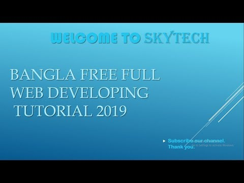 Web Development Tutorial Bangla Ep- 1 || full starting tutorial step by step A to Z in Bengali thumbnail
