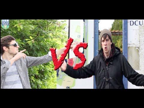 DCU vs. UCD - Epic Rap Battles of COLLEGES