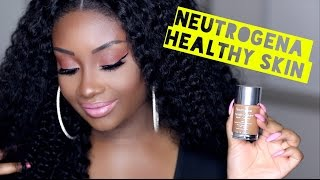 Neutrogena Healthy Skin Liquid Foundation | Review + Demo | Makeupd0ll