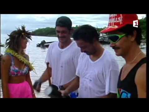 Marathon Polynésie 1ère va'a 2017 - Archives n°1 : RFO va'a 1991