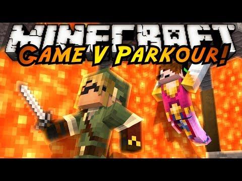 Minecraft Parkour : GAME V FINALE (ZELDA PARKOUR!)