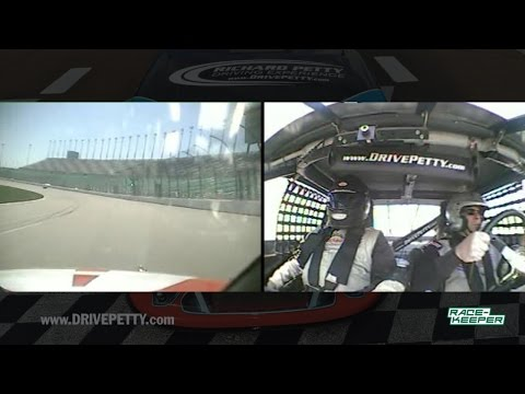 Brian Colee Richard Petty Driving Experience at Kansas Speedway