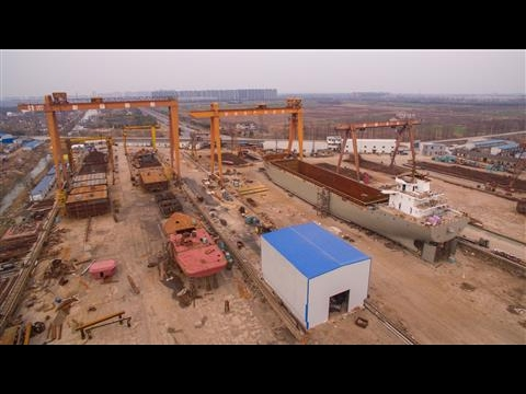 A Drone Tour of China's Rusting Shipyards