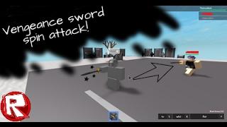 Roblox | Auto Duelle! Rache Schwert Spin ATTACK | Lustige Momente