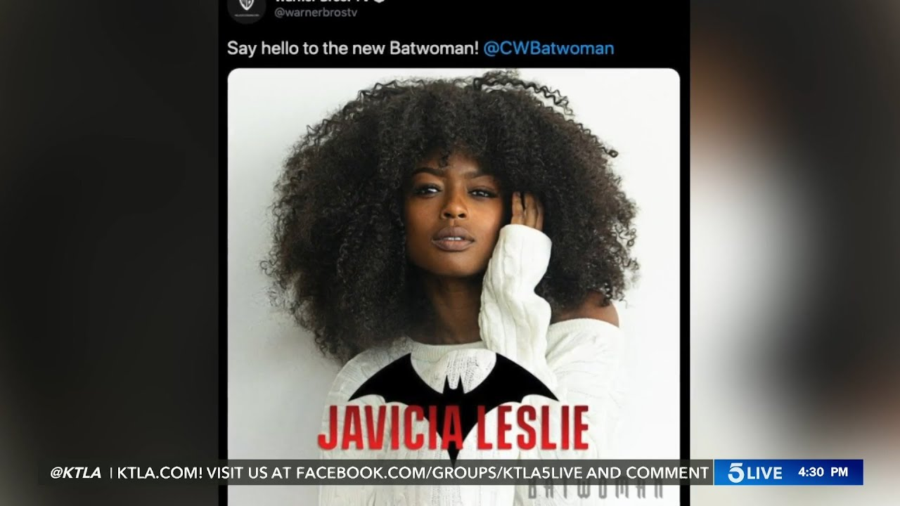 'Batwoman' casts Javicia Leslie as new lead in the CW series