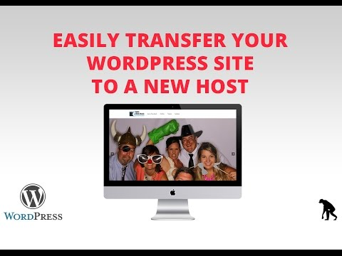 How to Transfer Entire WordPress Site to New Host - EASY (Duplicator Plugin)