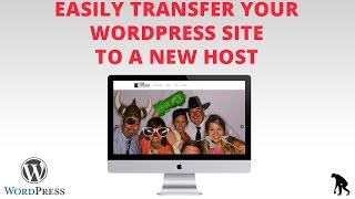 How to Transfer Entire WordPress Site to New Host - EASY (Duplicator Plugin)(In this video I will show you how to easily move your entire WordPress site over to a new host. This is handy if you build websites professionally and need to ..., 2015-01-30T20:51:58.000Z)