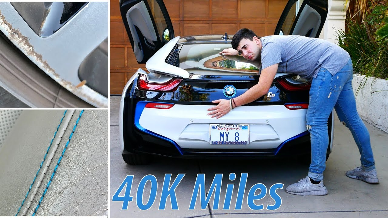 40 000 Miles In A Bmw I8 The Good The Bad The Ugly Youtube