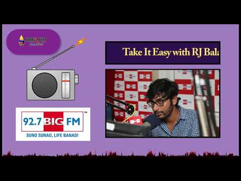 Big FM RJ Balaji | Inspirational Speech | Bharath Creations