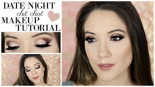 Date Night Chit Chat Makeup Tutorial (making it up as I go along!)