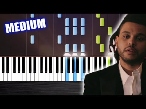 The Weeknd - Earned It (Fifty Shades of Grey) Piano Cover/Tutorial by PlutaX - Synthesia