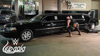 برون سترومان يدمر سيارة مستر ماكمان - WWE Wal3ooha, 17 January, 2019