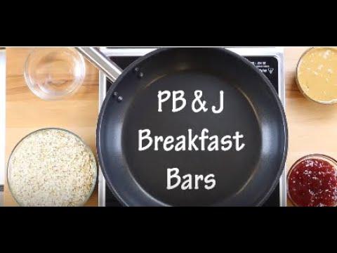 Peanut Butter & Jelly Oat Bars