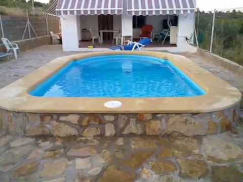 Video piscinas cano modelo c 5 poliester fibra de vidrio for Piscinas modelos