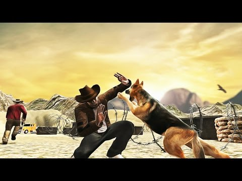 BORDER CROSS POLICE DOG DUTY  Android Gameplay Full HD