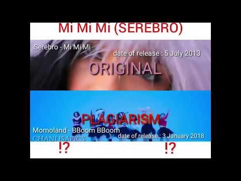 MOMOLAND alloyed the song Mi Mi Mi (SEREBRO) !?!?!?  MOMOLAND Mi Mi Mi BBOOM BBOOM  CHANLISA VIDEOS 