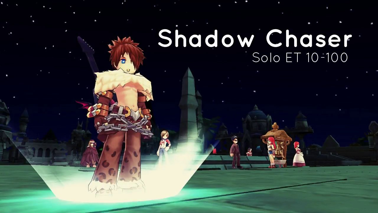 [Ragnarok Mobile] Shadow Chaser SOLO RUN ET 1-100 and EQUIPMENT