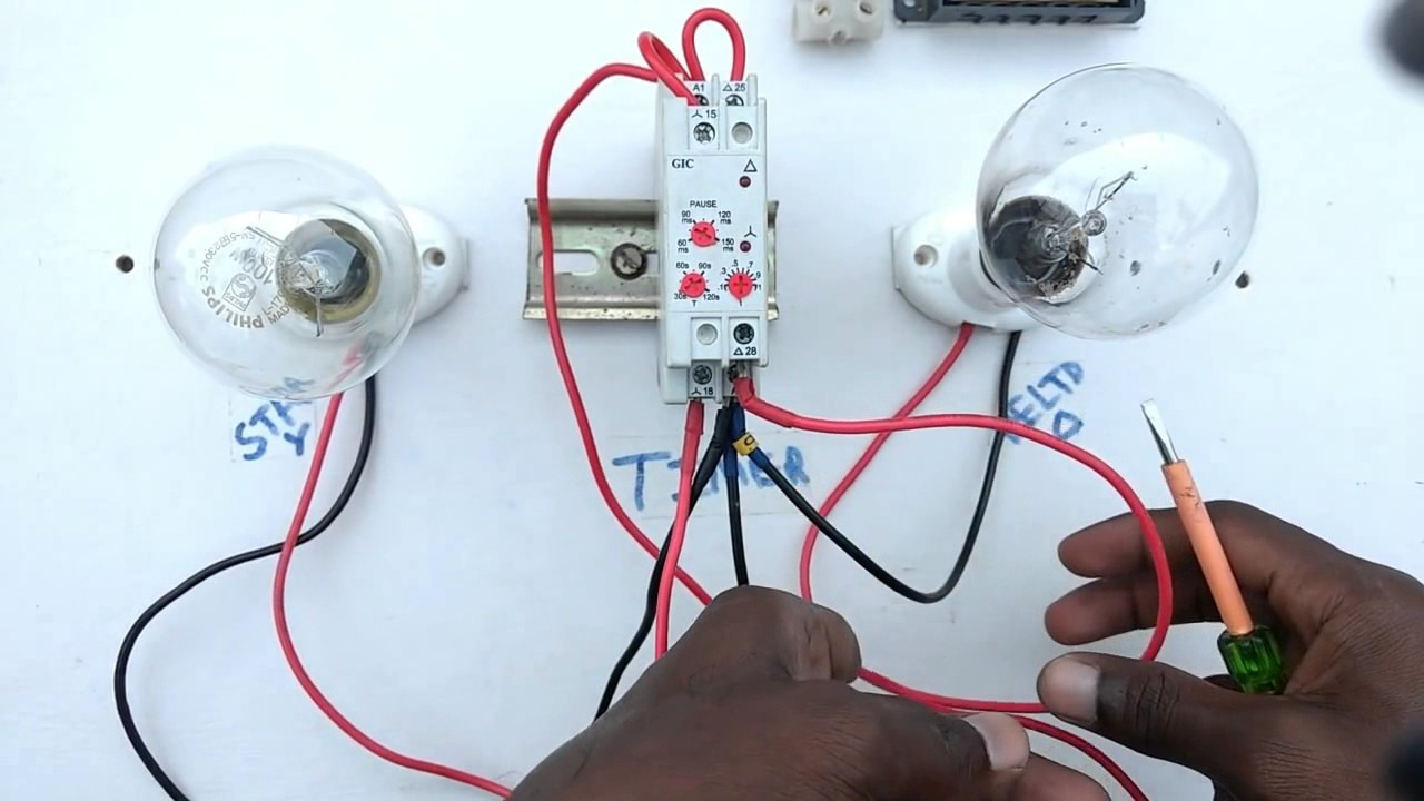 Copy Of How To Connection Timer Switch Youtube Switches Wiring Diagrams