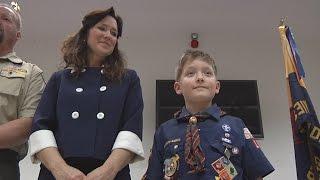 Boy Scout Hero