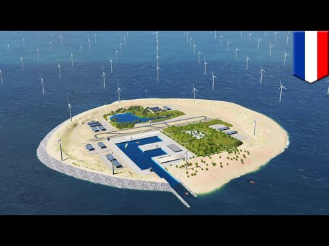 World's biggest wind farm? Dutch to build artificial island and wind farm in North Sea - TomoNews