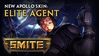 New Apollo Skin: Elite Agent(SMITE is a FREE-TO-PLAY online battleground between gods. SMITE is a third-person action MOBA. Instead of having a traditional isometric view (RTS), you ..., 2014-07-14T20:25:06.000Z)