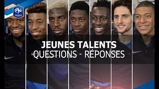 Equipe de France, Jeunes talents: questions - réponses I FFF 2017